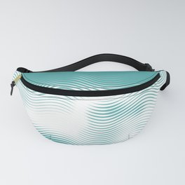 Seashore dreamer illusion - Become one with the waves Fanny Pack