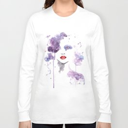 Red Eyes Red Lips two Long Sleeve T-shirt