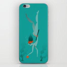 Ama (diving) iPhone Skin