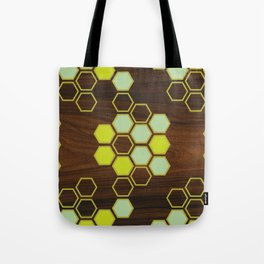 Hex in Green Tote Bag