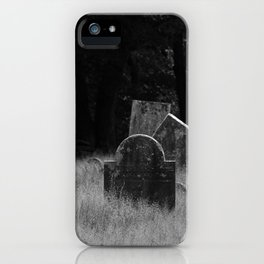 Tourtelotte Graveyard iPhone Case