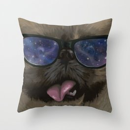 #HipsterPets Throw Pillow
