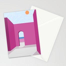 Imaginary spaces 001: I need a sunny holiday Stationery Cards