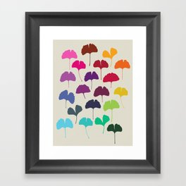 ginkgo 1 Framed Art Print