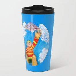 Round Boy Travel Mug