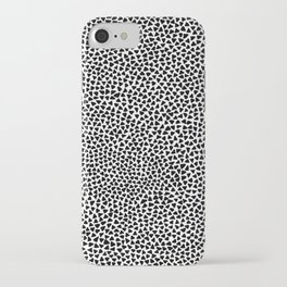 Black Triangles iPhone Case