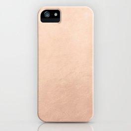 Rose gold (7) iPhone Case