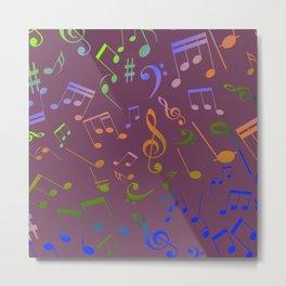 Musical Notes 18 Metal Print