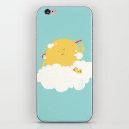 sun-bathing iPhone Skin