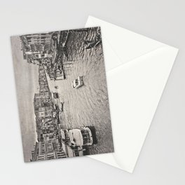 Rain on the Venice Canal Stationery Cards