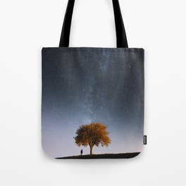 Light and Magic 001 // Tree Gazer Tote Bag