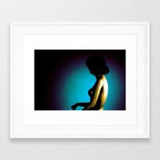 Model2 Framed Art Print