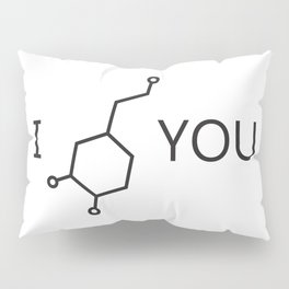 I Love You (Dopamine) Pillow Sham