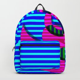 A crazy thing with stripes ... Backpack