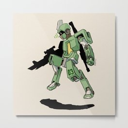 G.E.O.M.X. Unit 03 Recta Metal Print