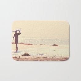 Surfer photograph. A Visceral Need Bath Mat
