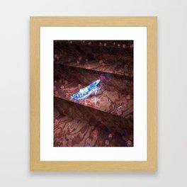 Cinderella's Little Glass Slipper Framed Art Print