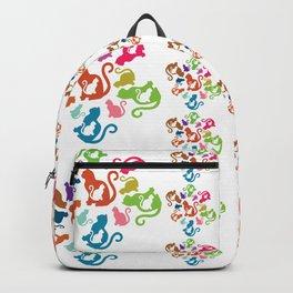 Cat Artwork Backpack