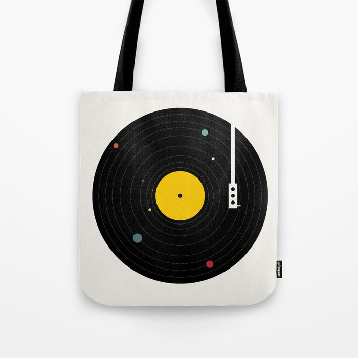 Music, Everywhere Tote Bag