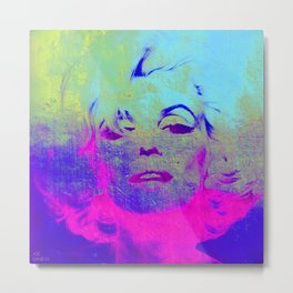 Norma Marylin Metal Print