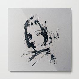 Splaaash Series - Talie Ink Metal Print