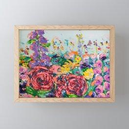 Flowers Galore Framed Mini Art Print