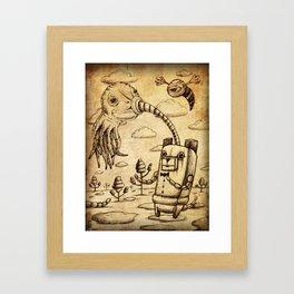 Inhaler Framed Art Print