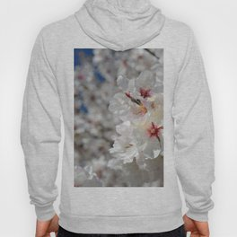 """White spring"". Hoody"