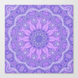 Purple Kaleidoscope Canvas Print
