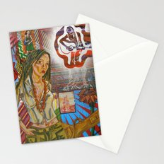 Folk Women Stationery Cards