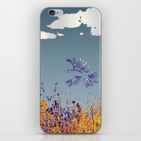 pigeon iPhone & iPod Skins featuring pigeon by Shelby Claire