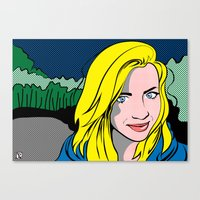popart Canvas Prints featuring PopArt by designerdarcy