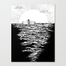 Abandoned to the Sun Canvas Print