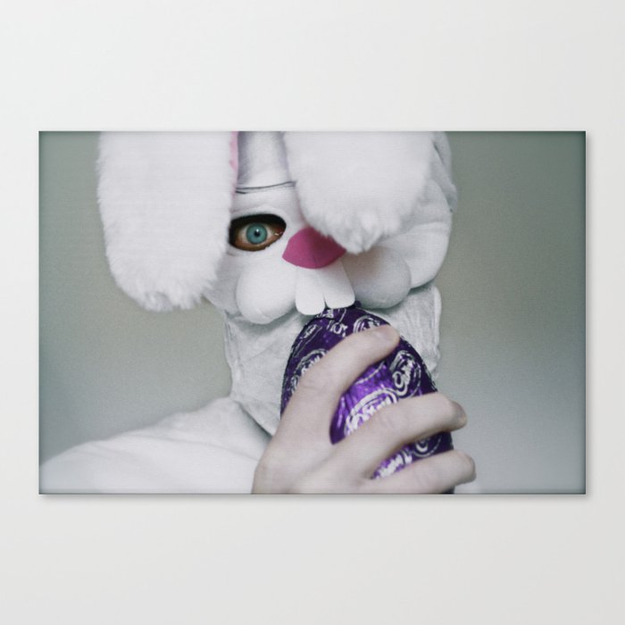 I Will Eat Your Soul (Happy Easter) Canvas Print