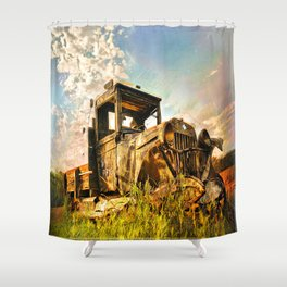 Chevy Tough Shower Curtain