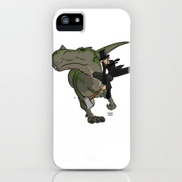 Cross-Time Lincoln iPhone Case