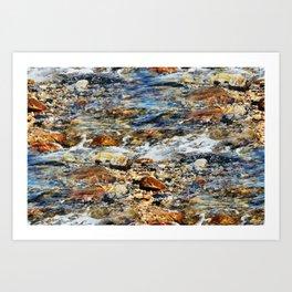 Peaceful Soothing Waters Art Print