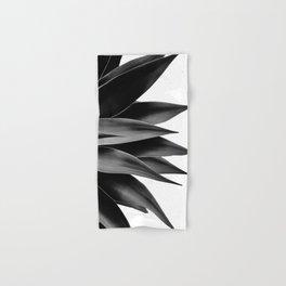 Agave fringe - noir Hand & Bath Towel