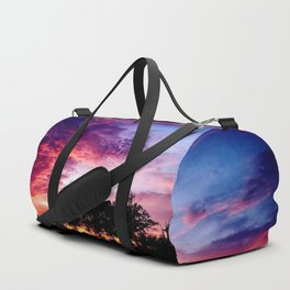 Sunset On The Ranch Duffle Bag