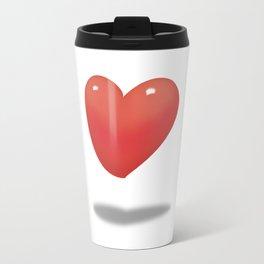 Floating Heart, Heart Balloon Travel Mug