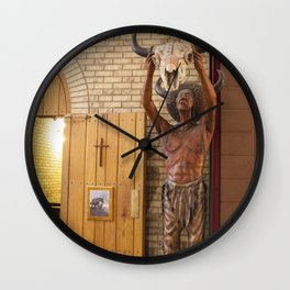 The Two Religions Wall Clock