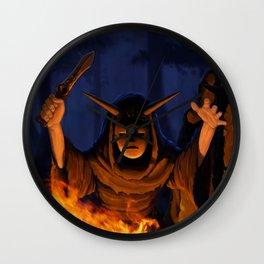 Night Ritual Wall Clock