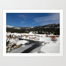 Carson River Art Print