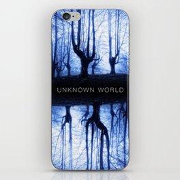 Unknown World iPhone Skin