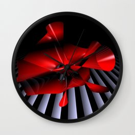 opart imaginary -11- Wall Clock