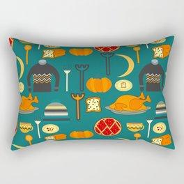 Family dinner Rectangular Pillow