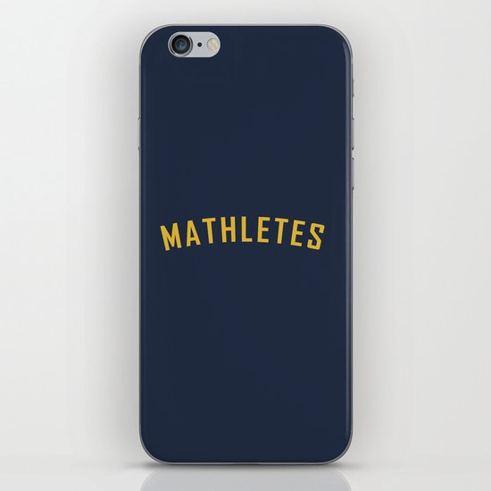 Mathletes - Mean Girls movie iPhone & iPod Skin