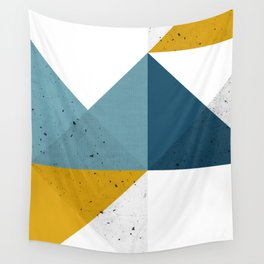 Modern Geometric 19 Wall Tapestry