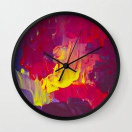 The Livid Lightnings Wall Clock