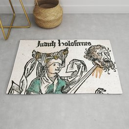 Judith and Holofernes Rug